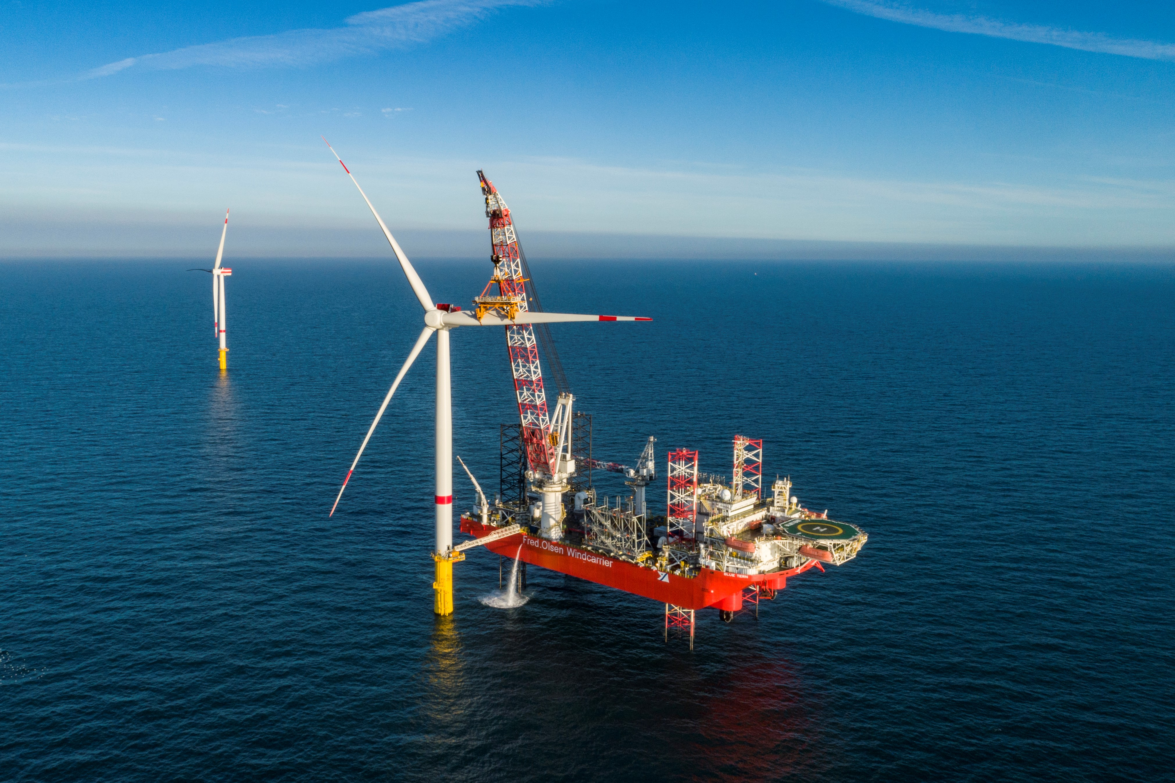 EnBW Offshore Windpark Hohe See und Albatros (Foto: EnBW)