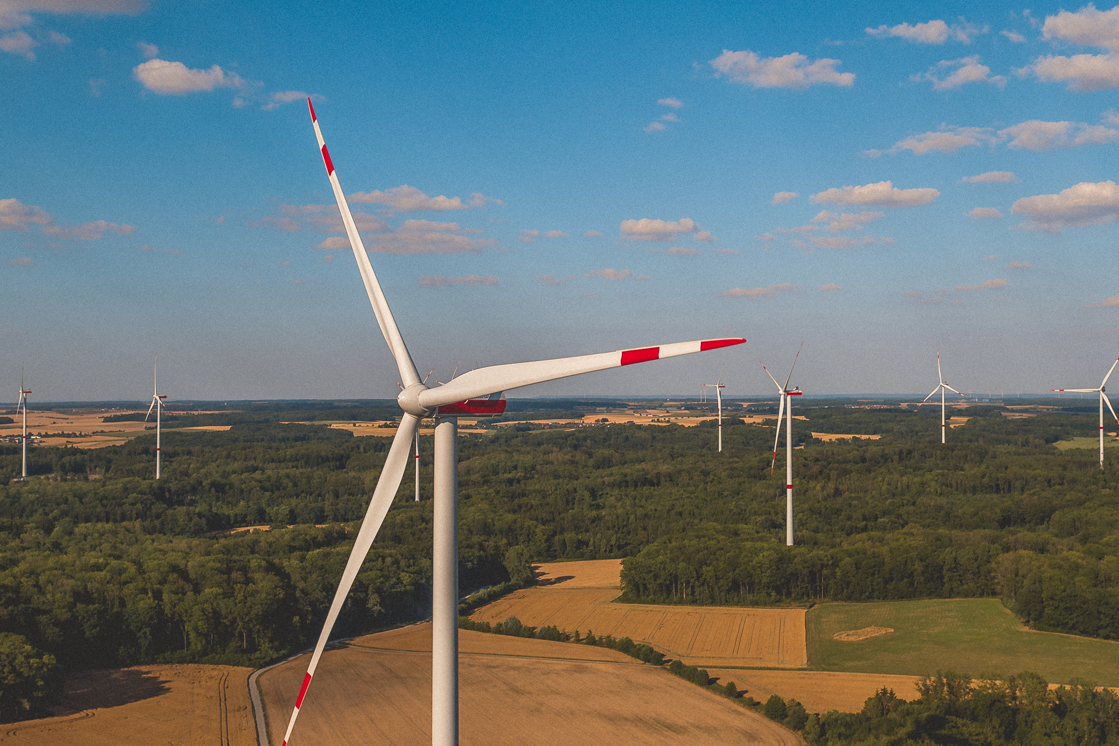 Windpark Langenburg (Quelle EnBW)