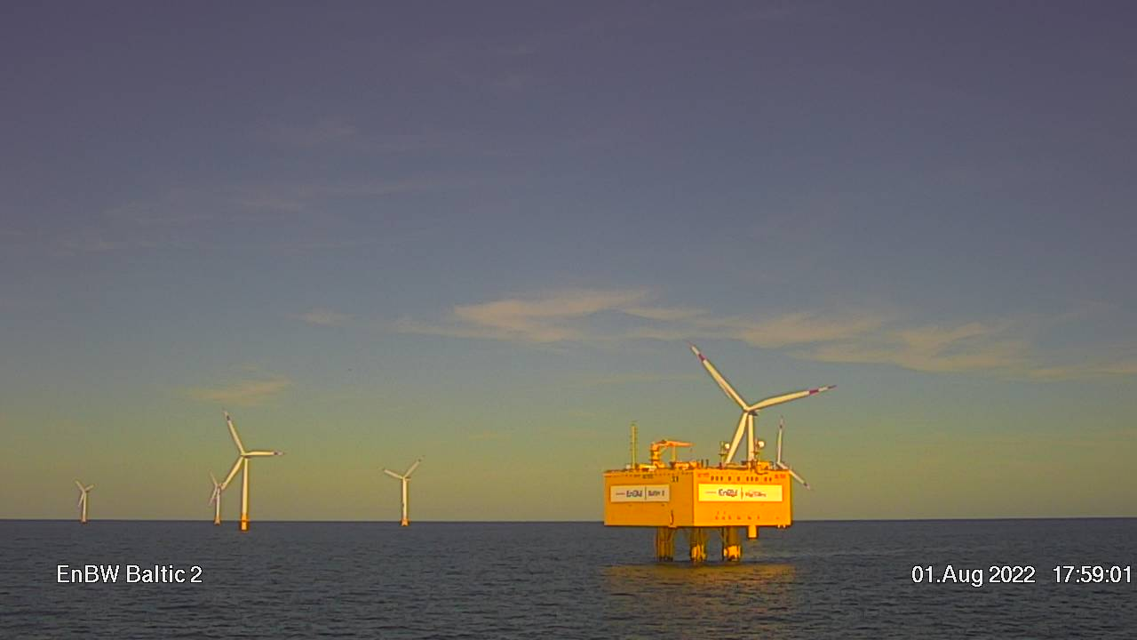 EnBW Baltic 2 Webcam